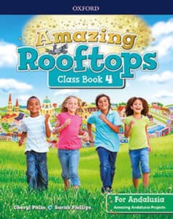 Amazing rooftops 4 class book andalucia