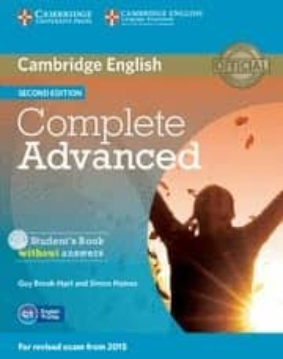 Complete advanced student s book without answers with cd-rom 2nd edition