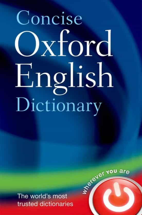 Concise oxford english dictionary (12th ed.)