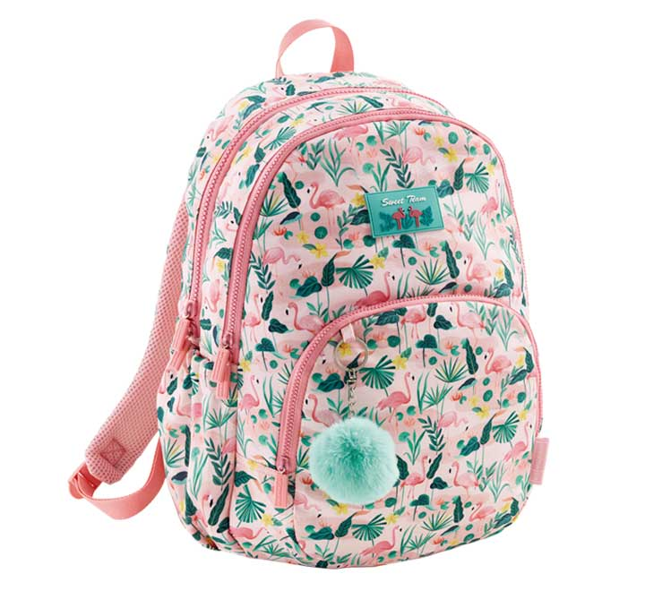 [MR19616] Mochila triple flamingo MR